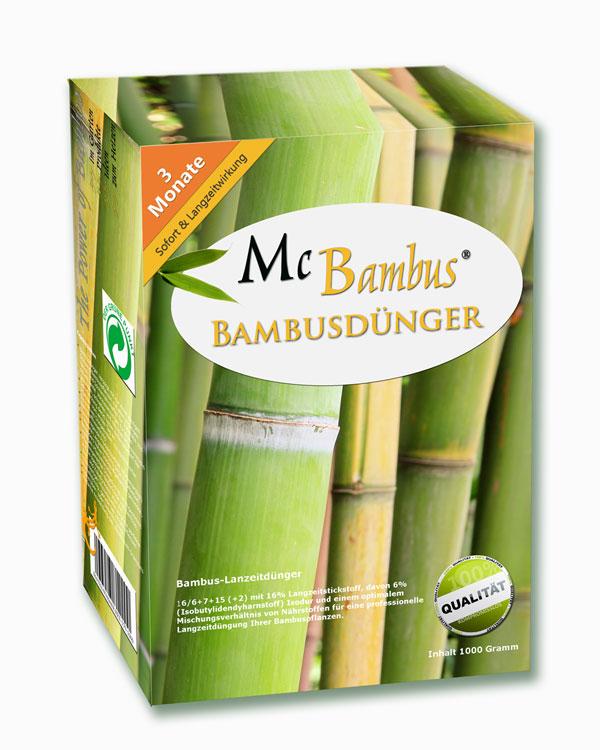 Bambusdünger Von Mc Bambus Mit 3 Monaten Langzeitwirkung Für Gesunde